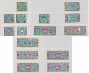 Allied Occupation WWII mostly Germany 1944 (15pcs)
