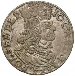 Jan II Kazimierz, Szóstak Poznań 1661 NG