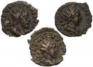 Tetrykus, Antoniniany - zestaw (3szt)