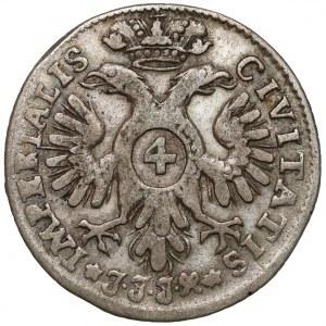 Lübeck-Stadt, 4 Schilling 1728