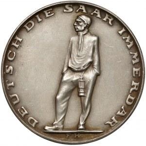 Niemcy, Medal na pamiątkę przyłączenia Zagłębia Saary 1935