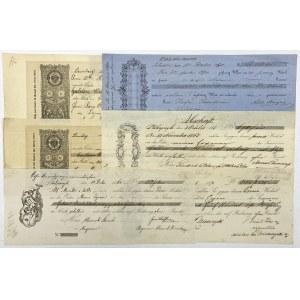 Weksle Galicja 1868-1895 (6szt)
