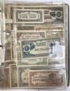 Filipiny, okupacja japońska - KOLEKCJA w albumie (~45szt)