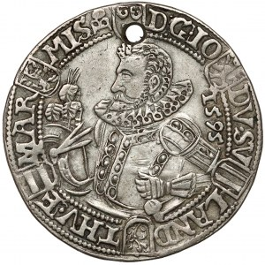 Sachsen-Alt-Weimar, Friedrich Wilhelm und Johann, 1/4 Taler 1595
