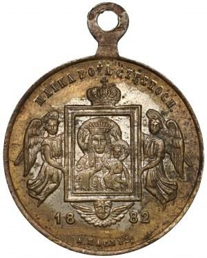 Pamiątka 500-lecia obrazu Matki Boskiej Częstochowskiej 1882 r.