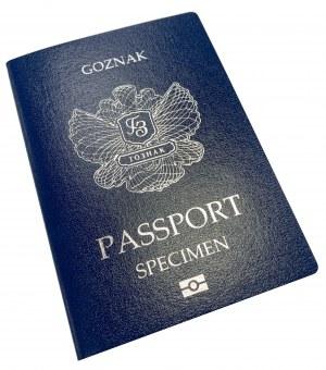 Paszport, Goznak - Specimen