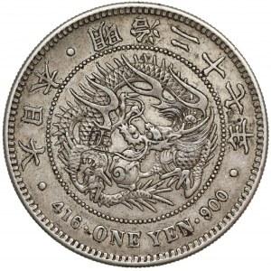 Japonia, Meiji, Yen 1894 (rok 27)