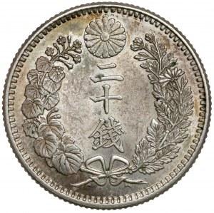 Japonia, 20 sen 1904 (rok 37)