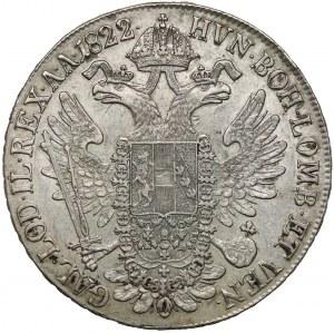 Austria, Franciszek I, Talar 1822 B - Kremnica
