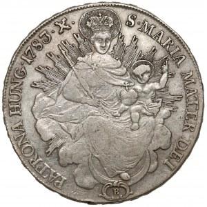Węgry, Józef II, Talar 1783 B, Kremnica