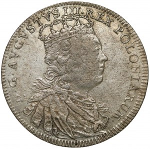 August III Sas, Tymf Lipsk 1753 - rzadkie popiersie