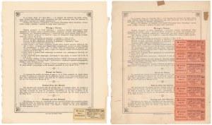 Wileński Bank Ziemski, Listy zastawne, Ser.I 100 zł i Ser.II 1.000 zł 1926-29 (2szt)