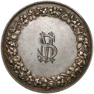 Francja, Medal, zaślubinowy 1865, z monogramem SM (Montagny)
