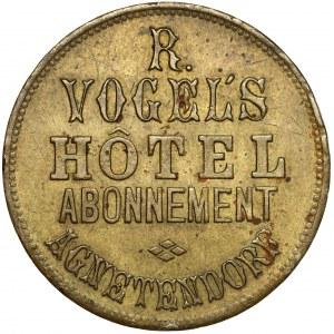 Jagniątków (Agnetendorf) Żeton o nominale 100 na abonament hotelowy