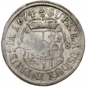 Preussen, Friedrich Wilhelm, Ort Königsberg 1674 HS