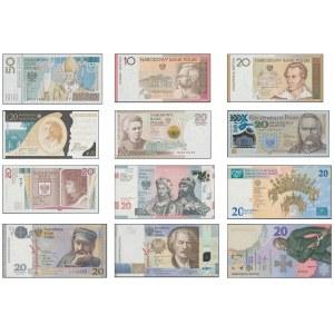 Banknoty kolekcjonerskie KOMPLET 2006-2020 (12szt)