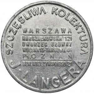 Kolektura J. Langera (Warszawa) - Talizman Szczęścia