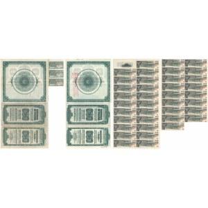 Obligacja 6% Pożyczki Dolarowej z 1920r. 50 dolarów (2szt)