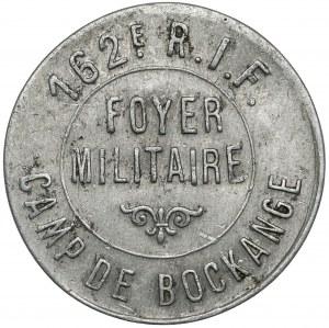 Obóz w Bockange (Francja), Foyer Militaire, 1 frank (?)