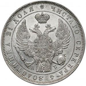 Rosja, Mikołaj I, Rubel 1844 KБ, Petersburg