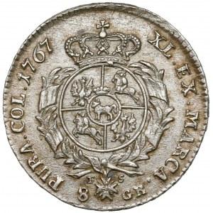Poniatowski, Dwuzłotówka 1767 FS - duże orły