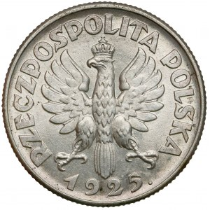 Kobieta i kłosy 1 złoty 1925