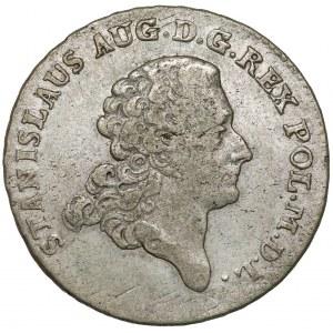 Poniatowski, Dwuzłotówka 1775 E.B.
