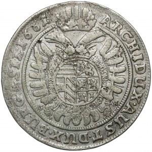 Śląsk, Leopold I, 15 krajcarów 1661 GH, Wrocław