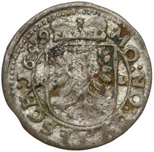 Śląsk, Ferdynand III, 1 krajcar 1649 HL, Cieszyn