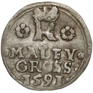 Czechy, Rudolf II, Maley Grosz 1591