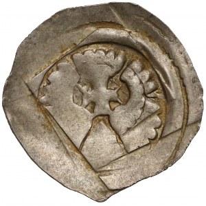 Austria, Albrecht I (1282-98), Fenig Graz - uskrzydlony ołtarz