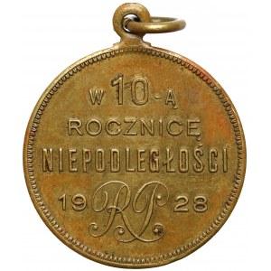 Województwo Nowogródzkie, Medal - w 10 rocznicę Niepodległości RP