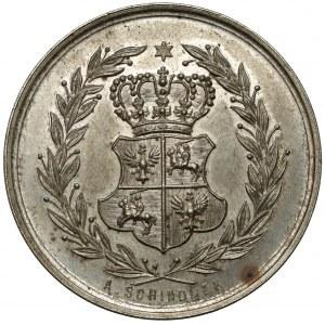 Medal, 100-lecie Konstytucji 3 Maja 1891