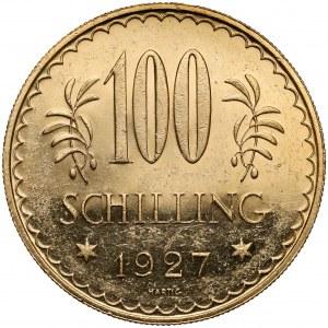 Austria, 100 szylingów 1927