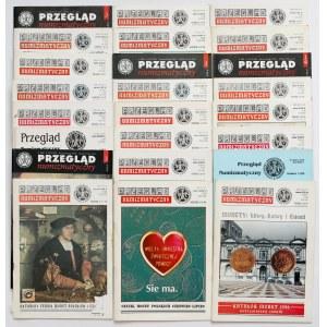 Przegląd numizmatyczne - zestaw MIX (24szt)
