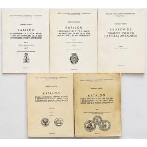 Kopicki [wydanie I] - różne tomy, w tym cz.2 wyd.II - zestaw (5szt)