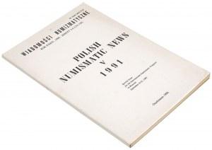 Wiadomości numizmatyczna 1990/Nr 3-4 - Polish Numismatic News