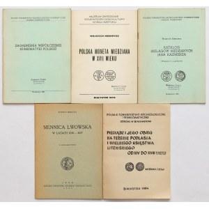 Biblioteczka BN i inne broszury - zestaw (5szt)