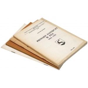 Pieniądz zastępczy, Piła, Wałcz, Trzcianka, powiat notecki (4szt)