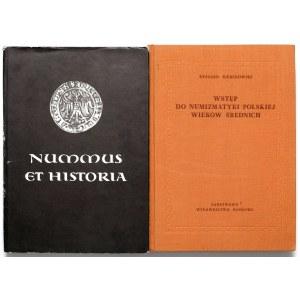 Nummus et Historia + Wstęp do numizmatyki polskiej wieków średnich (2szt)