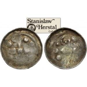 Denar krzyżowe (2szt) CNP VI i VII - krzyż prosty i z pastorałem - ex. Herstal