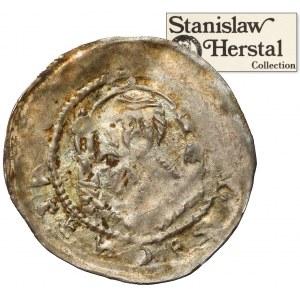 Śląsk, Henryk II Pobożny 1238-1241(?), Denar - Św. Wacław / Św. Wojciech - ex. Herstal