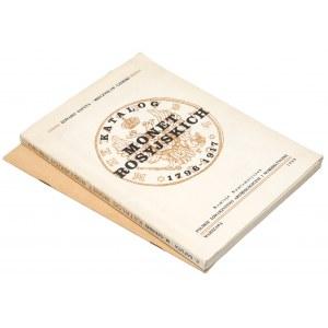 Katalog monet rosyjskich 1796-1917 i Zestawienie... kopiejek 1825-1917 (2szt)