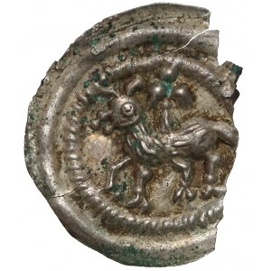 Brakteat, Baranek Boży (Agnus Dei) - RZADKI - nieokreślony władca