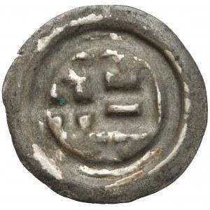 Zakon Krzyżacki, Brakteat - Prostokąt - D (1345-1353) - rzadki
