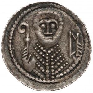 Władysław II Wygnaniec, Denar - Książę i Biskup - O - T - RZADKI