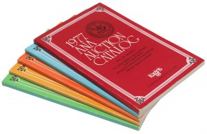 ANA Auction Catalog 1977 Vol. I-V (5szt)