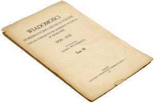 WNA 1920/Nr 7-12 + dodatek