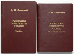 Podręcznik Numizmatyki Polskiej, Gumowski 1914 - teksty i tablice oprawne osobno