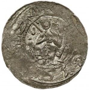 Bolesław III Krzywousty, Denar - Książę na tronie